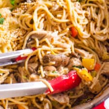 One Pot Turkey Tetrazzini